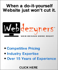 Webdezyners - When a do-it-yourself website won't cut it.